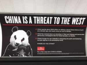 The Economist's Ad Showcase Anti-China