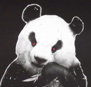 Demon Panda eyes