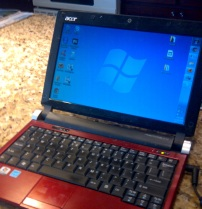 And the little netbook that make it possible.